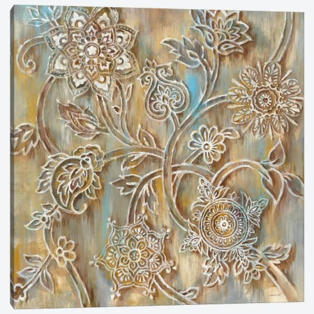 Henna In Zoom Canvas Print #WAC6379} by Danhui Nai Canvas Art