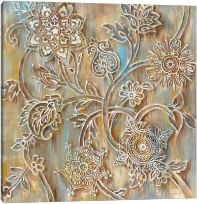 Henna In Zoom Canvas Print #WAC6379