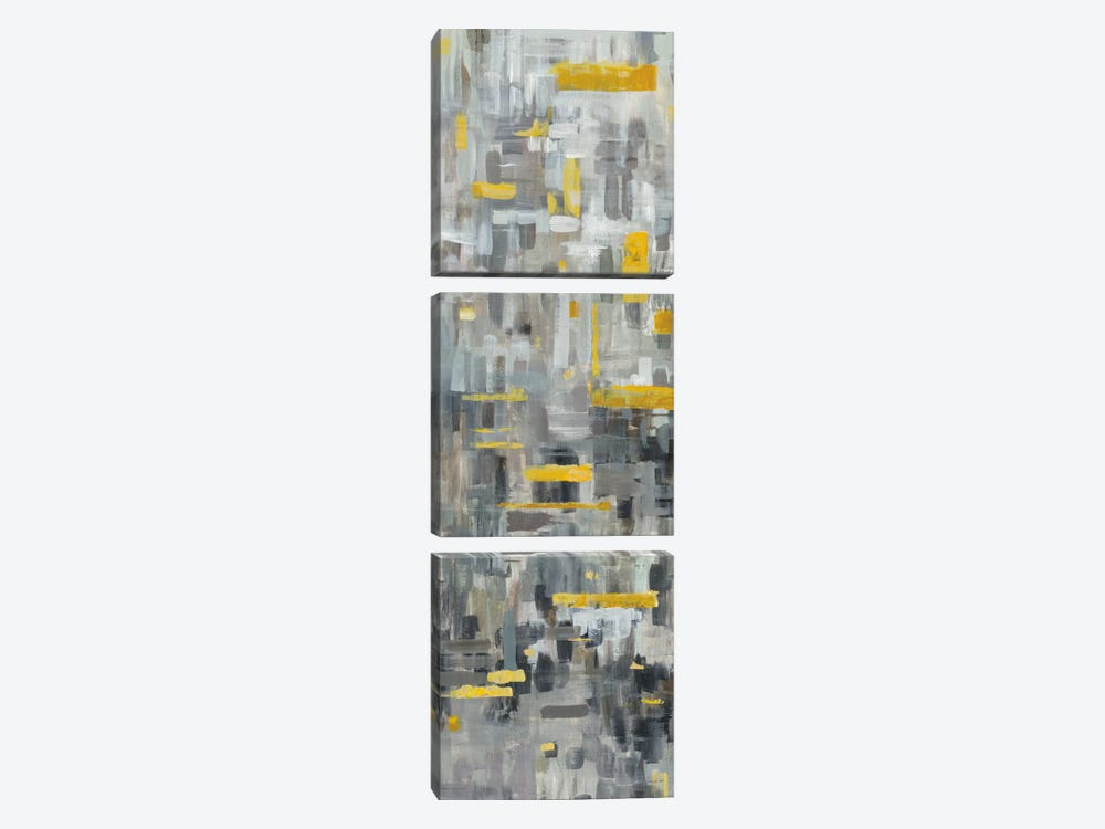 Reflections II by Danhui Nai 3-piece Canvas Art Print