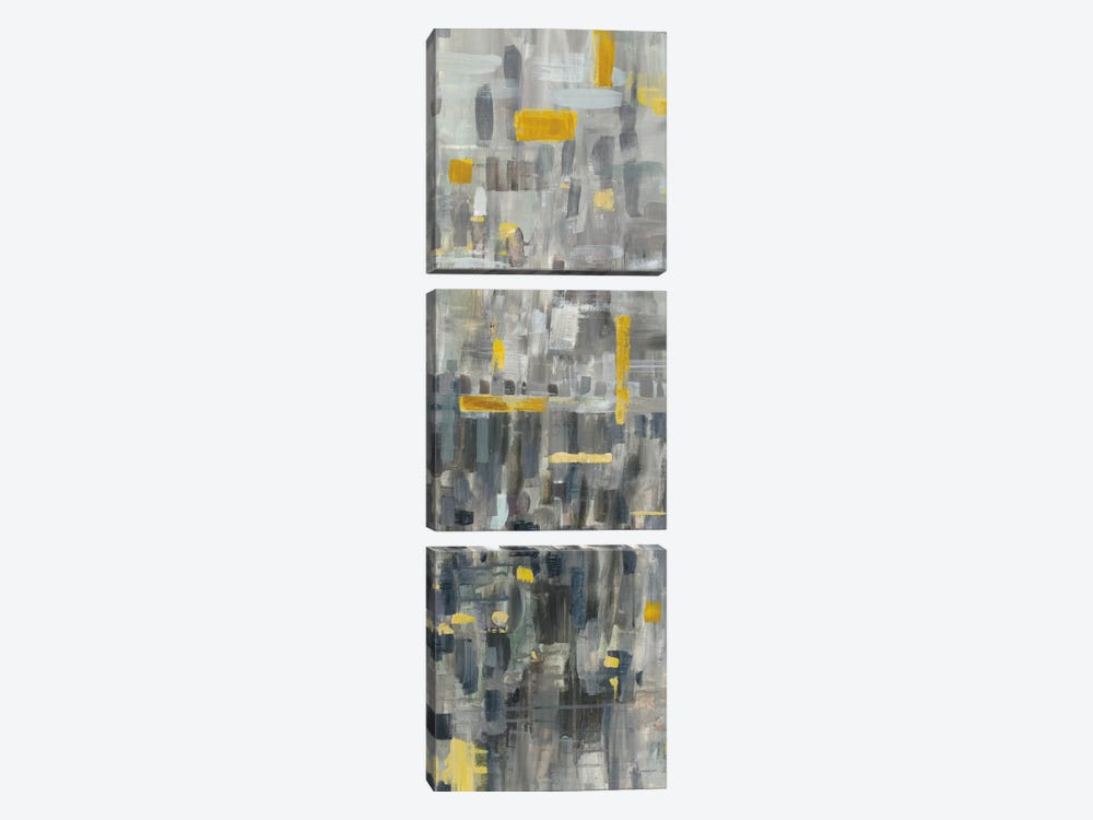 Reflections III by Danhui Nai 3-piece Canvas Artwork