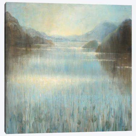 Through The Mist II Canvas Print #WAC6385} by Danhui Nai Canvas Artwork