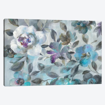 Twilight Flowers Canvas Print #WAC6386} by Danhui Nai Canvas Art
