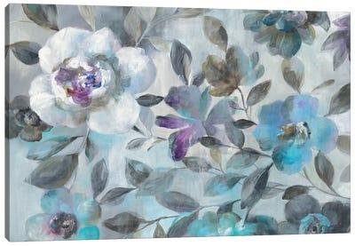 Twilight Flowers Canvas Print #WAC6386