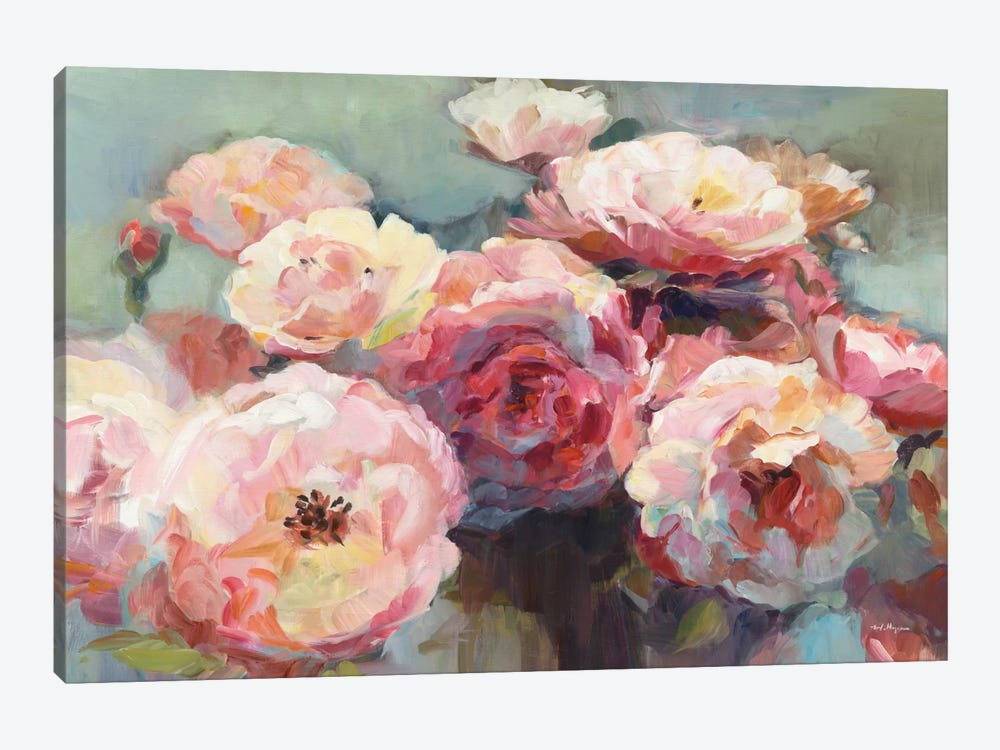 Wild Roses by Marilyn Hageman 1-piece Canvas Print