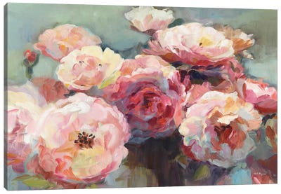 Wild Roses by Marilyn Hageman Canvas Art Print