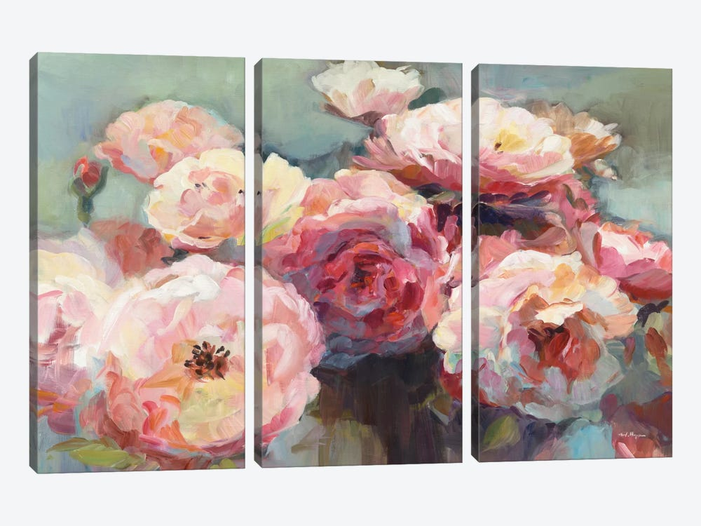 Wild Roses by Marilyn Hageman 3-piece Canvas Art Print