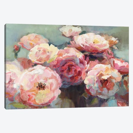 Wild Roses Canvas Print #WAC6387} by Marilyn Hageman Canvas Artwork