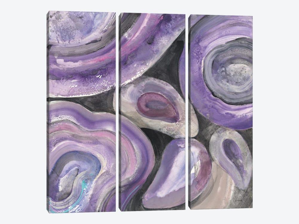 Circle Rain by Albena Hristova 3-piece Art Print