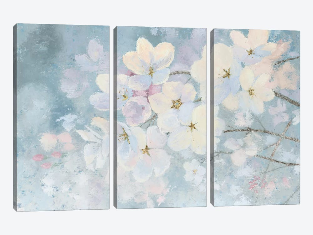 Splendid Bloom by James Wiens 3-piece Canvas Print
