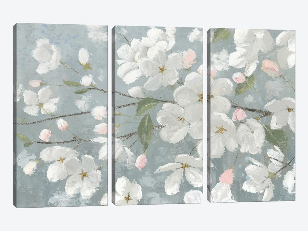 Spring Beautiful by James Wiens 3-piece Canvas Artwork