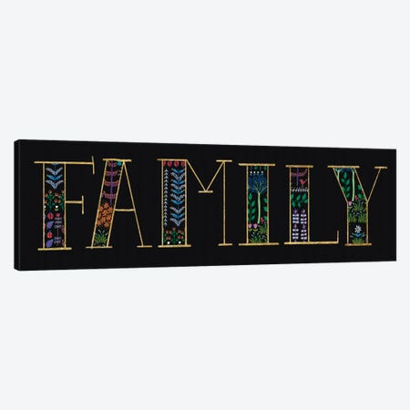 Family Canvas Print #WAC6398} by Wild Apple Portfolio Canvas Artwork