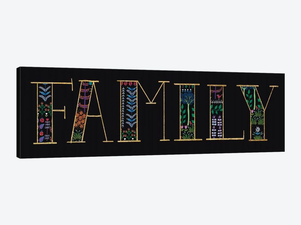 Family by Wild Apple Portfolio 1-piece Canvas Print