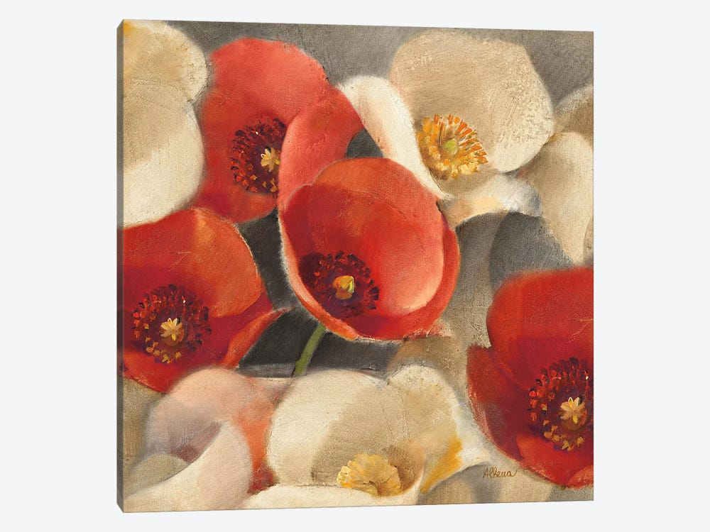 Poppies Bloom II 1-piece Art Print