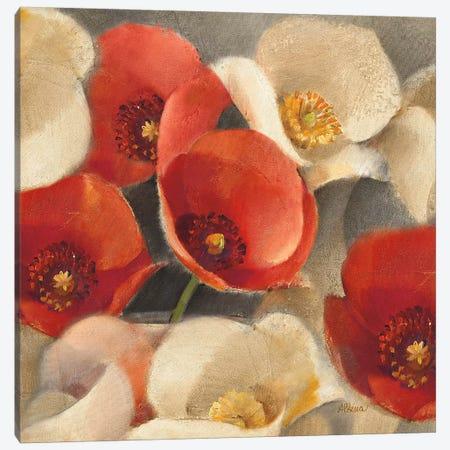 Poppies Bloom II Canvas Print #WAC63} by Albena Hristova Canvas Print