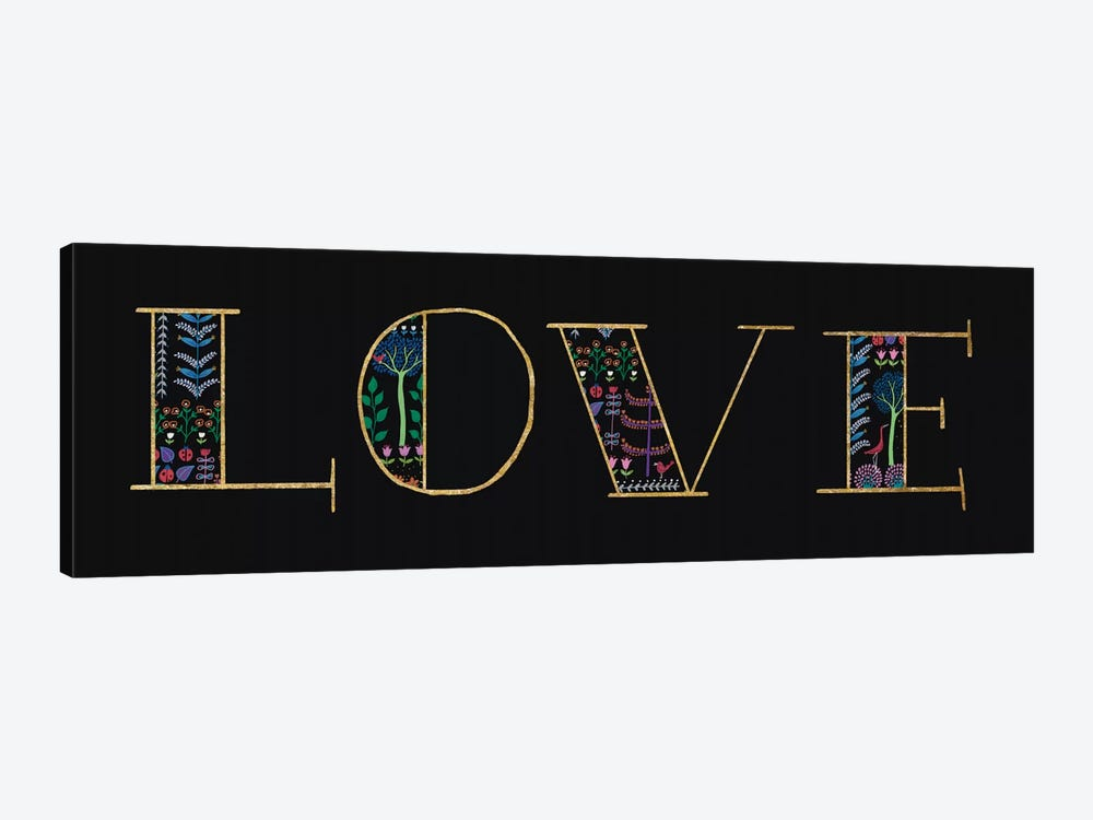 Love by Wild Apple Portfolio 1-piece Canvas Wall Art
