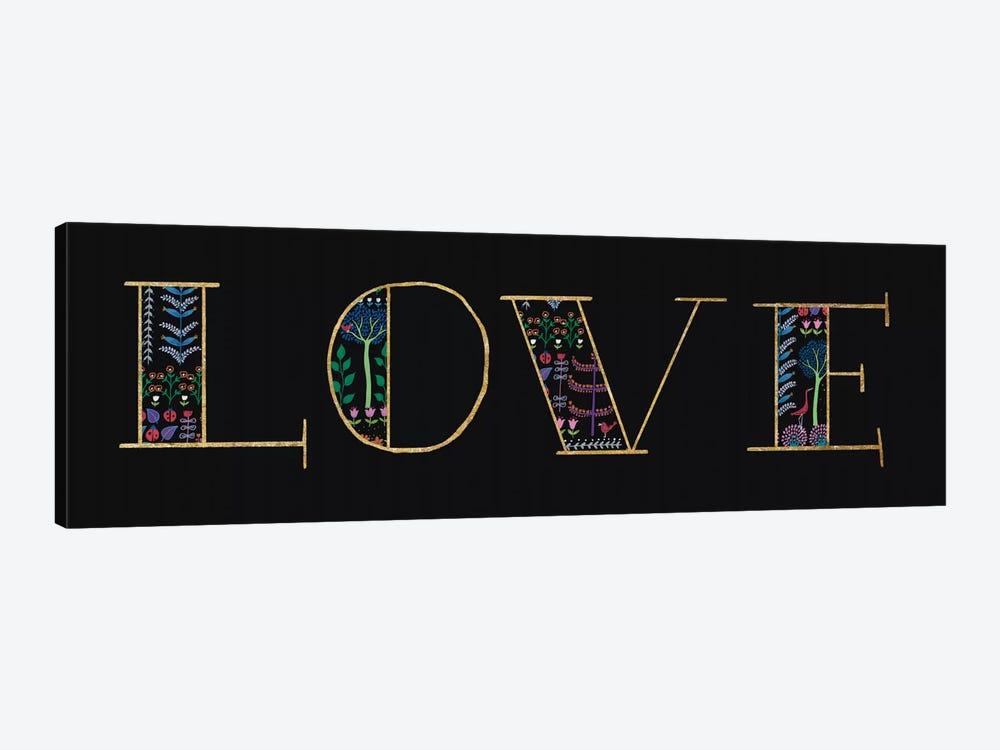 Love by Wild Apple Portfolio 1-piece Canvas Wall Art