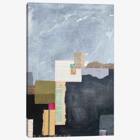 Block Abstract I Canvas Print #WAC6402} by Courtney Prahl Canvas Artwork