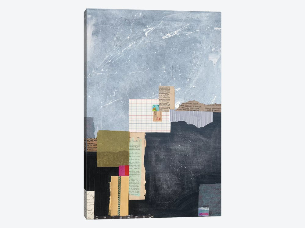 Block Abstract I by Courtney Prahl 1-piece Canvas Art Print