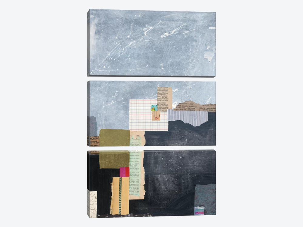 Block Abstract I by Courtney Prahl 3-piece Art Print