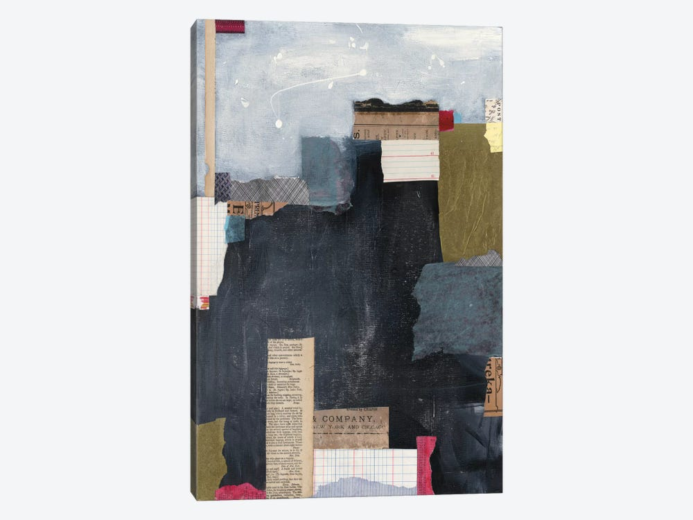 Block Abstract II by Courtney Prahl 1-piece Canvas Wall Art