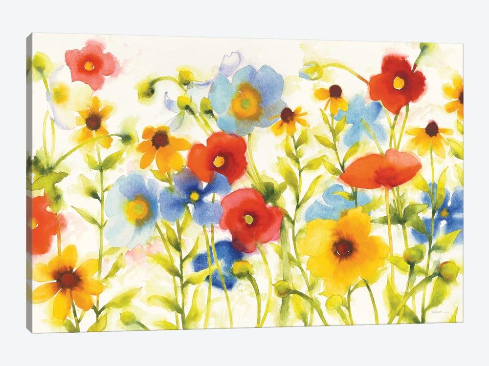 Americana Meadow I by Shirley Novak 1-piece Canvas Wall Art