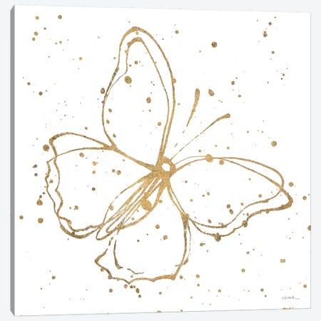 Golden Wings I Canvas Print #WAC6416} by Shirley Novak Canvas Wall Art