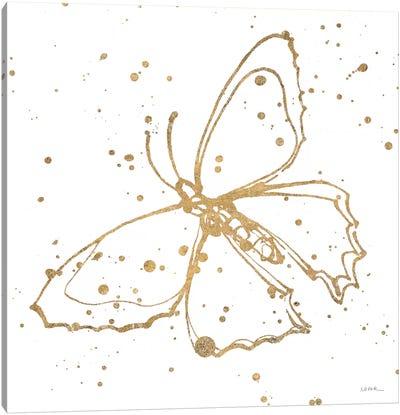 Golden Wings II Canvas Art Print