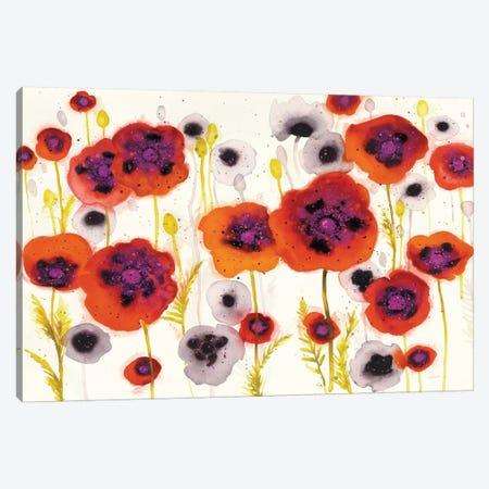 Splash Garden I Canvas Print #WAC6419} by Shirley Novak Canvas Print