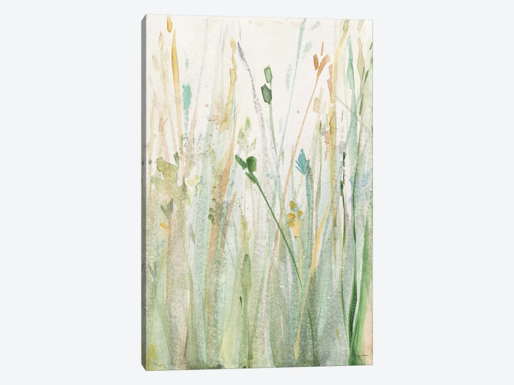 Spring Grasses II by Avery Tillmon 1-piece Canvas Wall Art