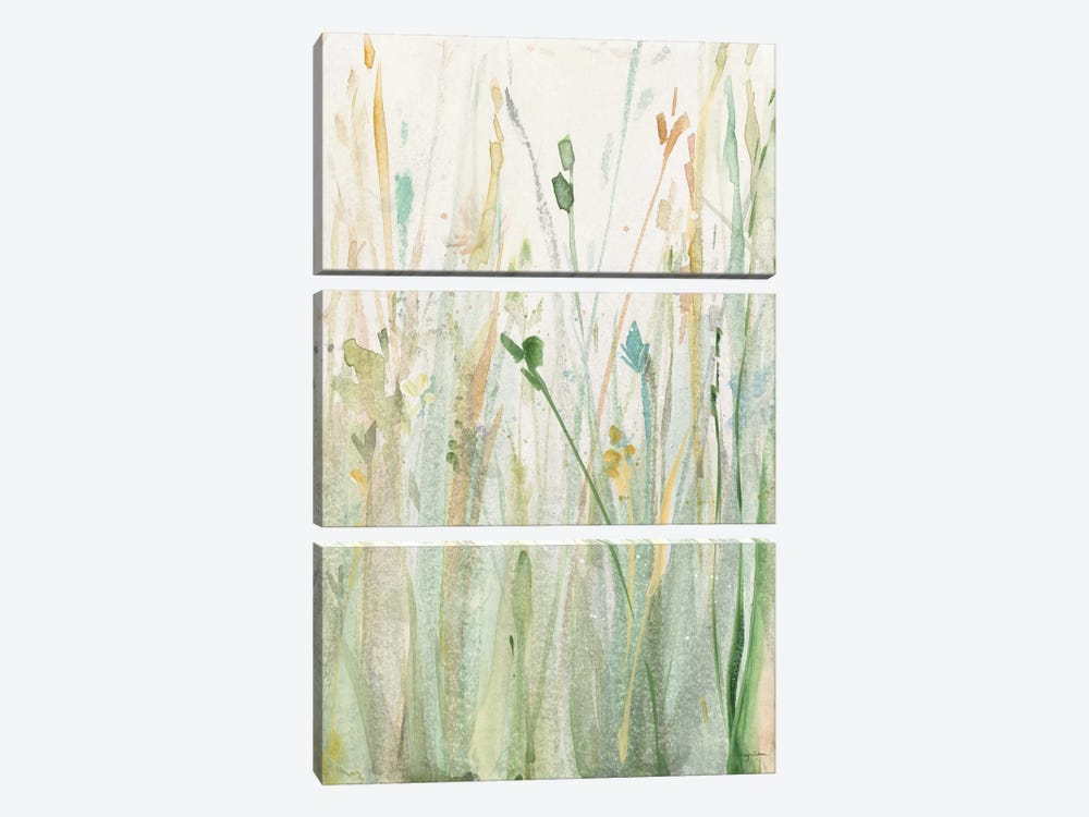 Spring Grasses II by Avery Tillmon 3-piece Canvas Art
