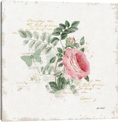 French Romance II Canvas Print #WAC6425