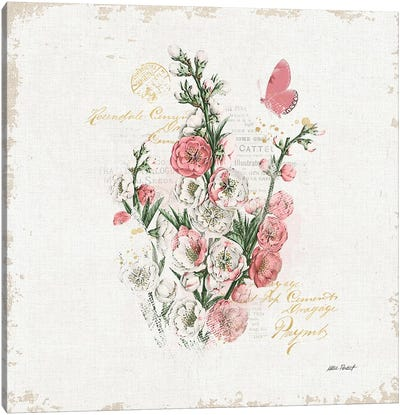 French Romance III Canvas Art Print