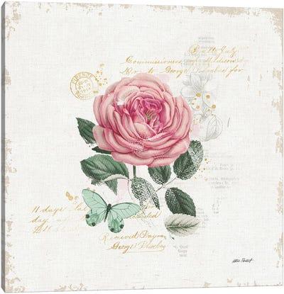 French Romance IV Canvas Art Print