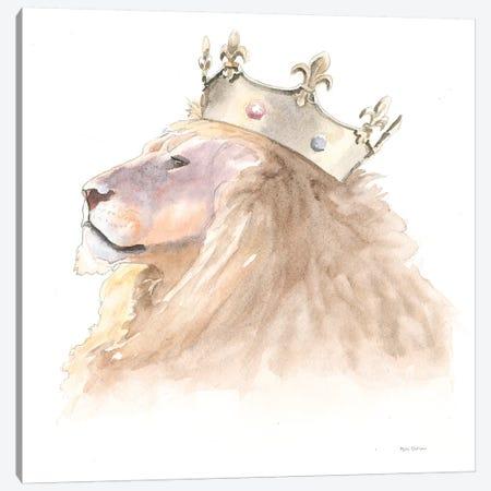 Jungle Royalty I Canvas Print #WAC6429} by Myles Sullivan Canvas Artwork