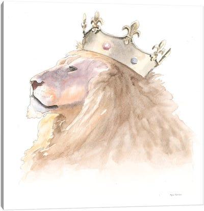Jungle Royalty I Canvas Art Print