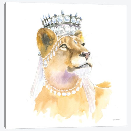 Jungle Royalty II Canvas Print #WAC6430} by Myles Sullivan Canvas Art Print