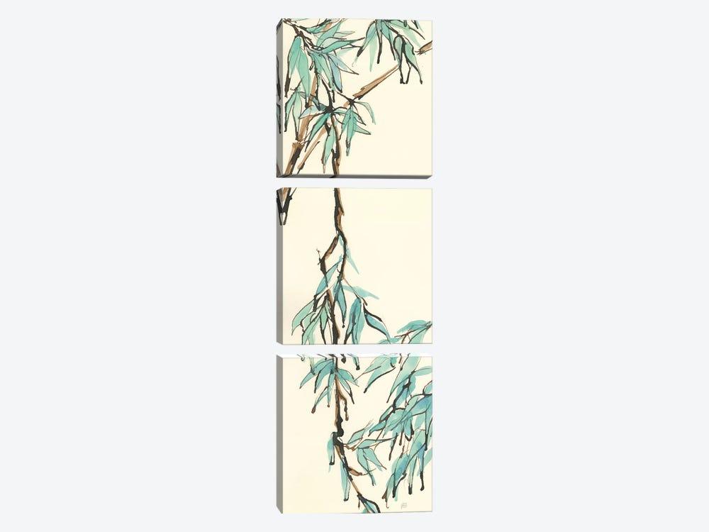 Summer Bamboo II by Chris Paschke 3-piece Canvas Art
