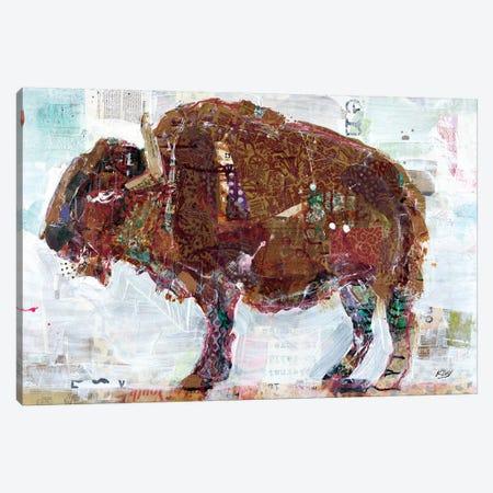 El Buffalo Canvas Print #WAC6447} by Kellie Day Canvas Art Print