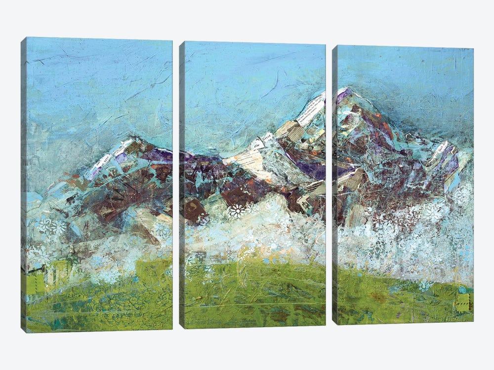 Wilson Fog by Kellie Day 3-piece Canvas Art