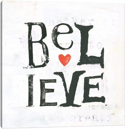 Believe Canvas Art Print