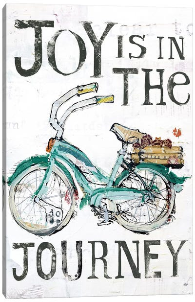 Joy Is In The Journey Canvas Art Print