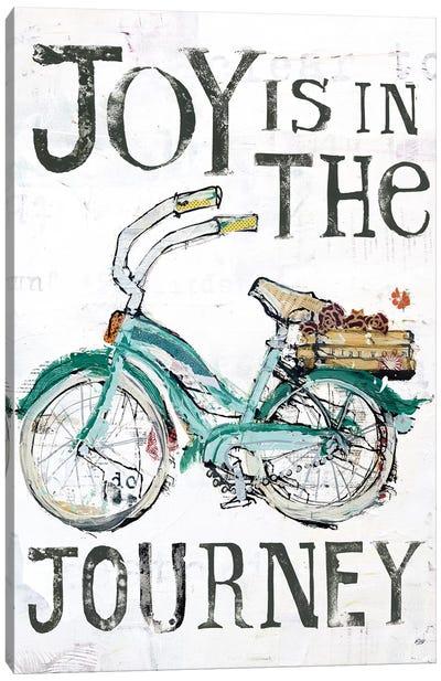 Joy Is In The Journey Canvas Art Print