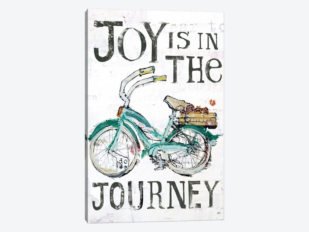 Joy Is In The Journey by Kellie Day 1-piece Canvas Art Print