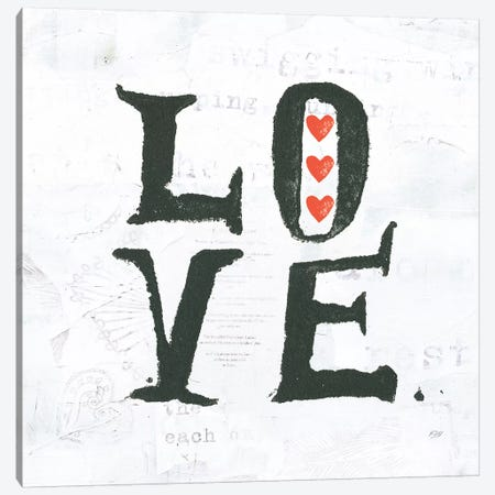 Love Canvas Print #WAC6457} by Kellie Day Canvas Artwork