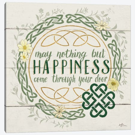 Irish Blessing I Canvas Print #WAC6460} by Janelle Penner Canvas Artwork