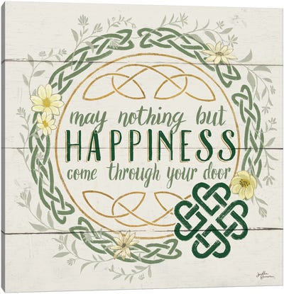 Irish Blessing I Canvas Print #WAC6460