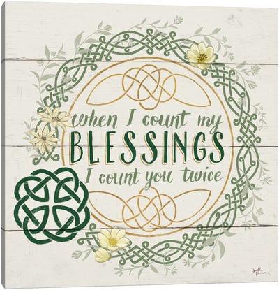 Irish Blessing II Canvas Print #WAC6461