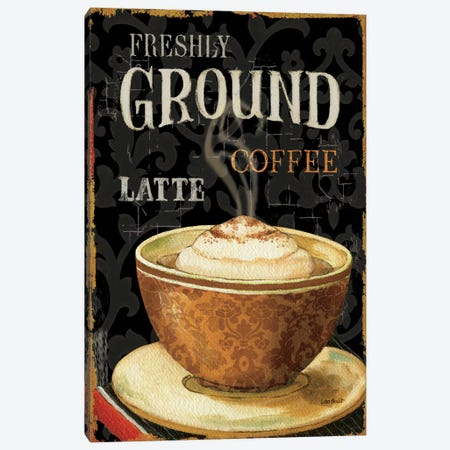 Today's Coffee II Canvas Print #WAC646} by Lisa Audit Canvas Print