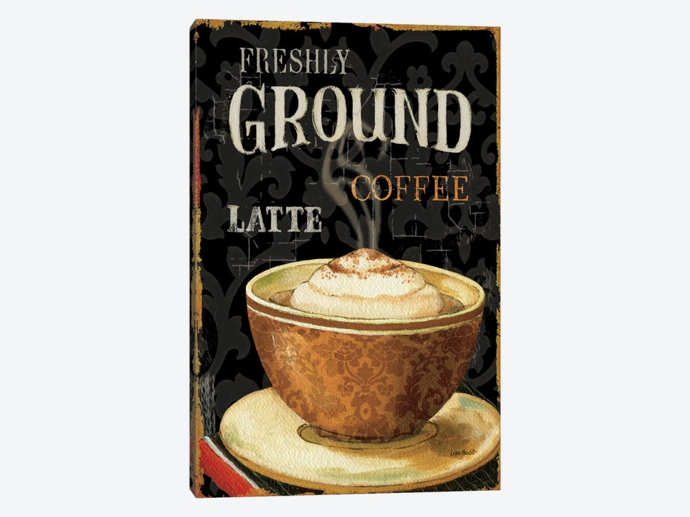 Today's Coffee II by Lisa Audit 1-piece Canvas Wall Art