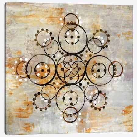 Saffron Mandala I Canvas Print #WAC6479} by Melissa Averinos Canvas Print